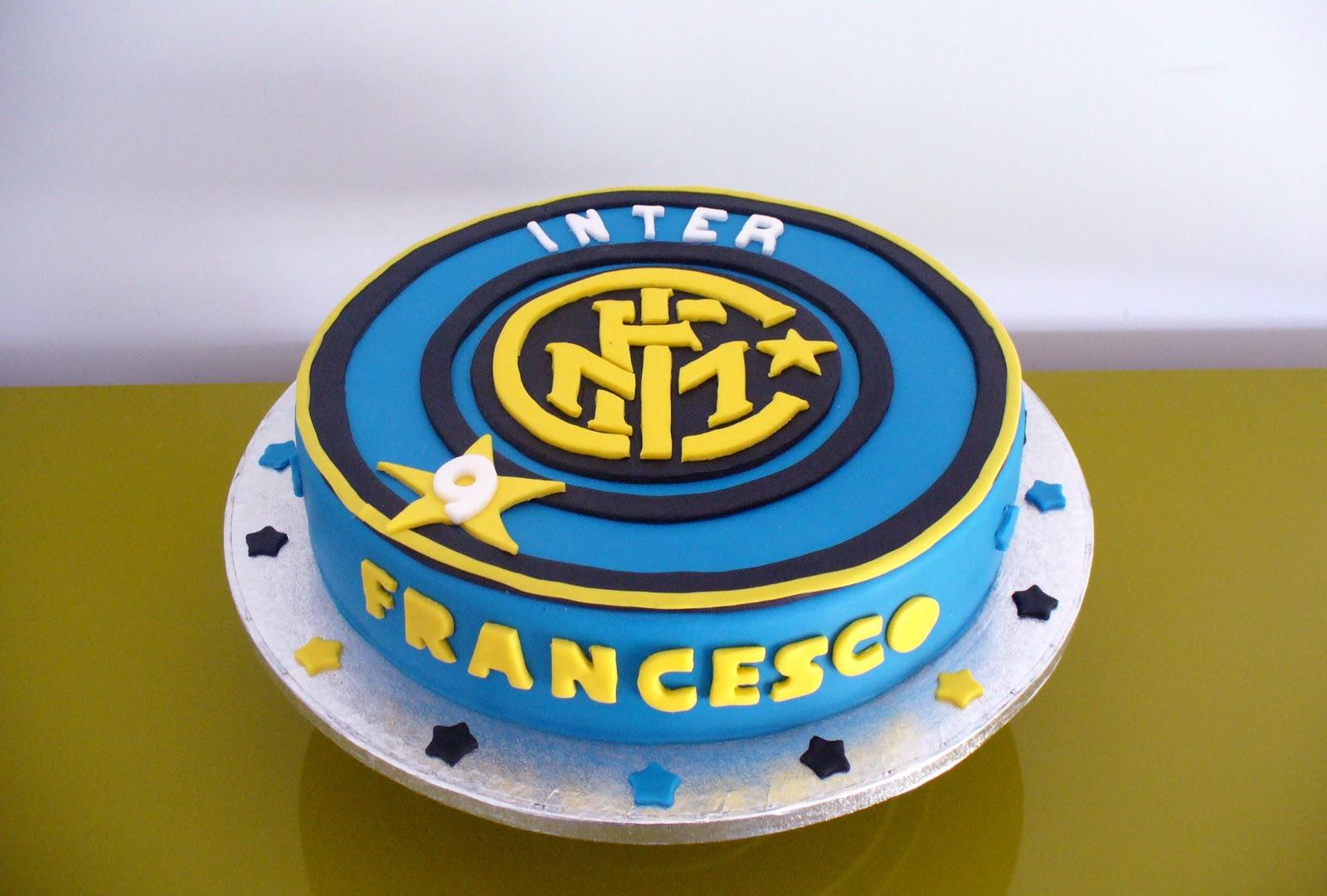 Preferenza Le Torte di Mamma: Torta dell'Inter IK01