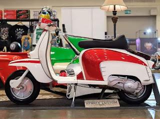 Body Lambretta Mesin Matic Scoopy ..ada yang mau pesan?