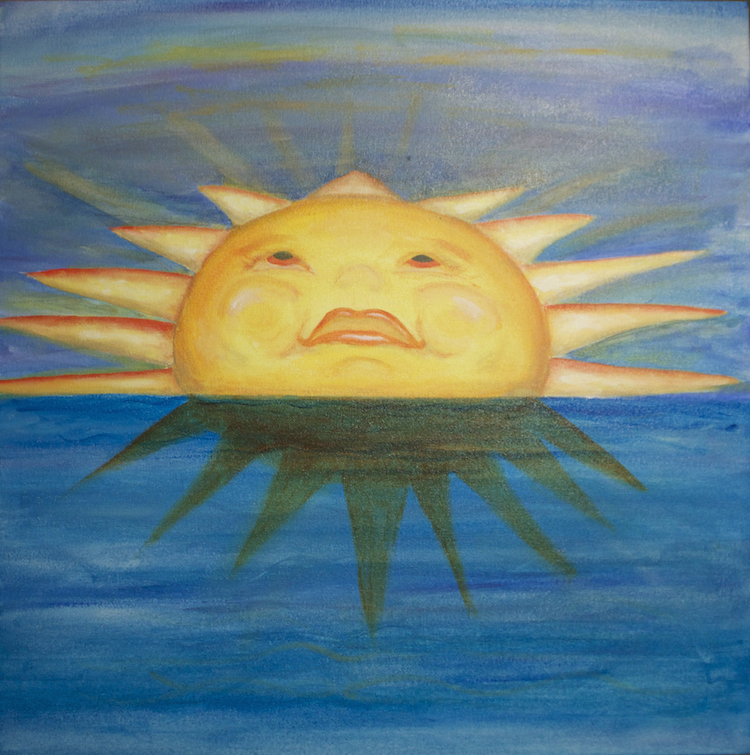 Consecrated Art Gallery: 2013 Sun Art For CBS Sunday Morning