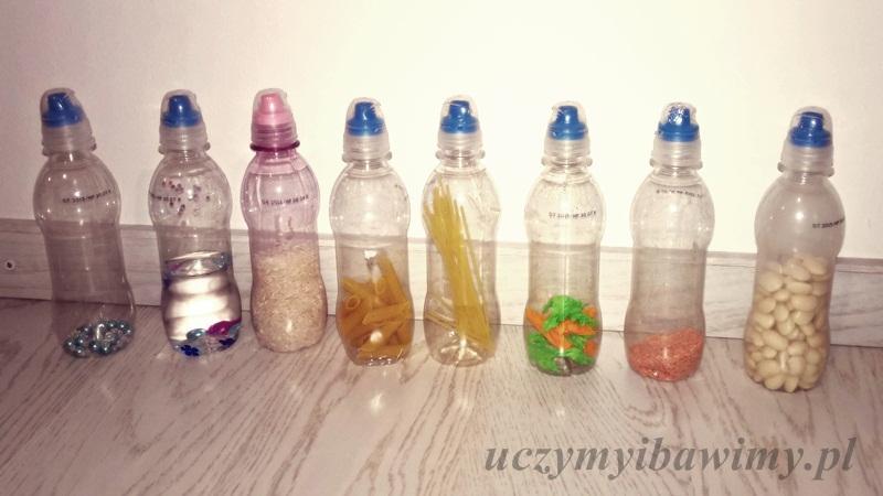 butelki sensoryczne dla maluszka