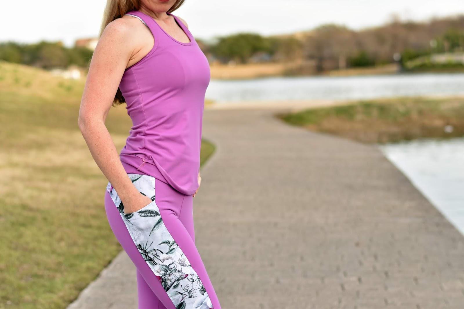 Colorblocked Pocket Leggings Sewing Pattern