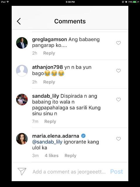 Ellen Adarna Slams Her Haters: 'Ignorante Kang Ul*l Ka!'