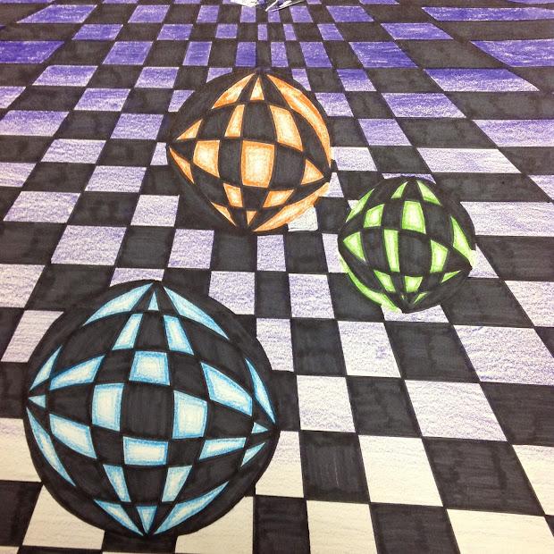 Optical Illusion Art Lesson