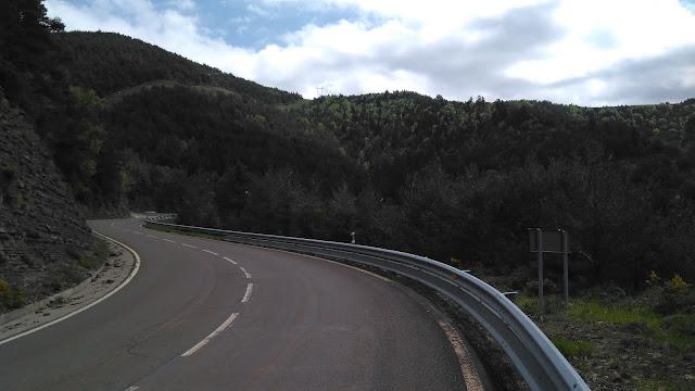 Llegando al túnel de Cotefablo