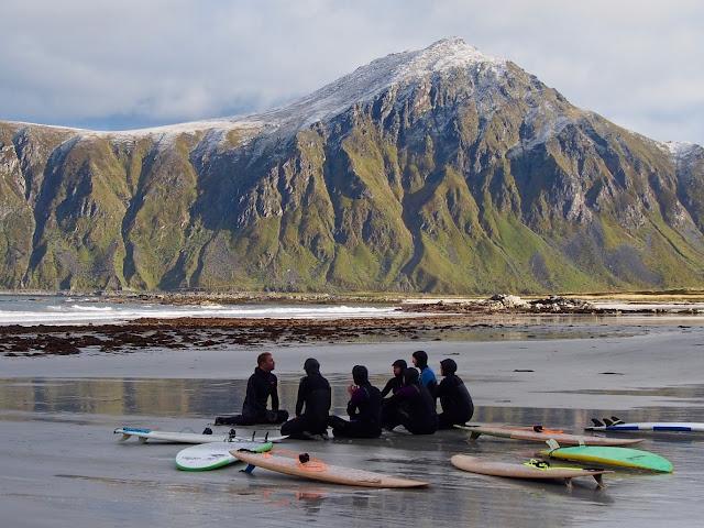 Surfetur til Lofoten
