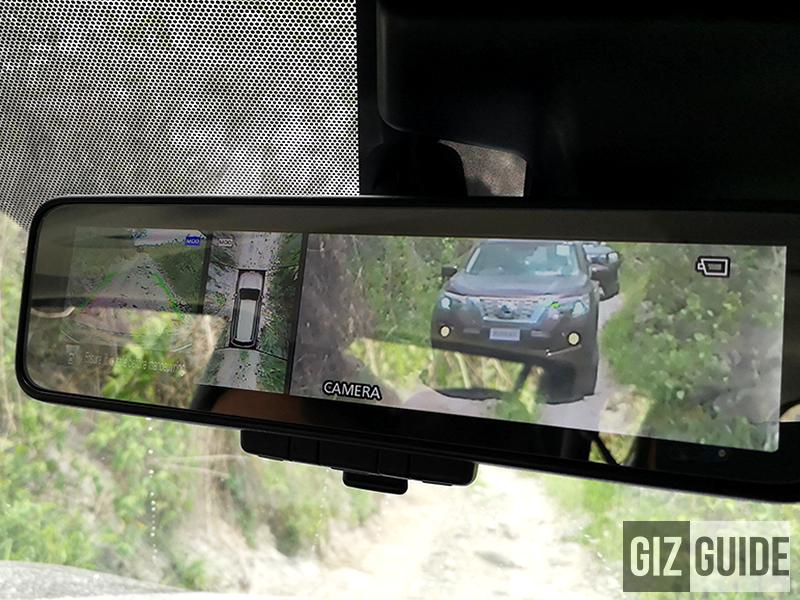 Front view camera, 360 view camera, rear view camera