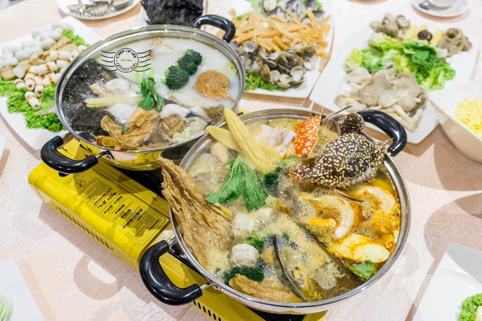 Lexis Hotel Steamboat Set Dinner and Buffet 2018