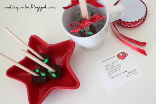 Chocolate quente - handmade