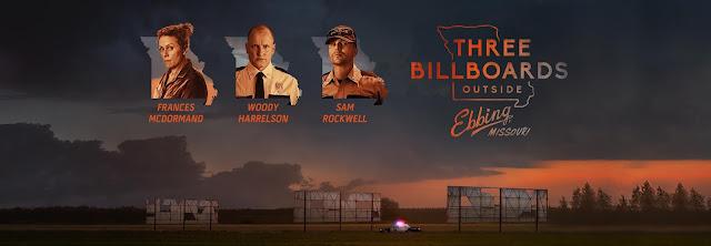 """Recenzja nominowanego do Oscarów filmu """"Trzy billboardy za Ebbing, Missouri"""". W rolach głównych występują: Frances McDormand, Sam Rockwell, Woody Harrelson."""