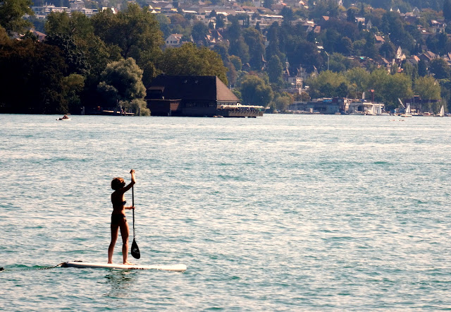 Stand Up Paddle Lake Zurich
