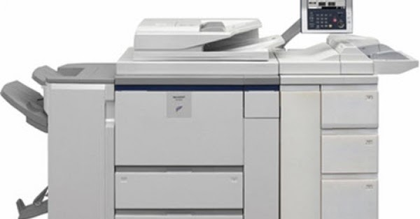 SHARP MX-M950 PRINTER PCL PS DRIVERS UPDATE