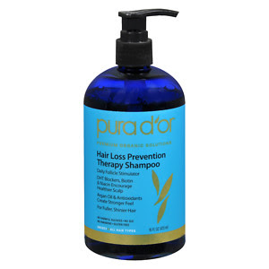 Natural Hair Loss and Hair Thinning Pura D'Or Hair Loss Prevention Therapy Shampoo DiscoveringNatural
