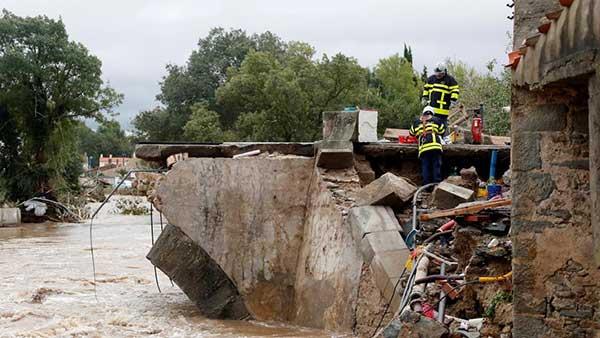 La cifra de muertos por Leslie puede aumentar considerablemente, se confirman 13  personas fallecidas en el sur de Francia por ahora