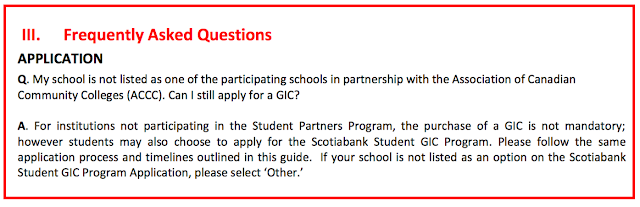Guaranteed Investment Certificate (GIC) - Scotiabank Student GIC Program