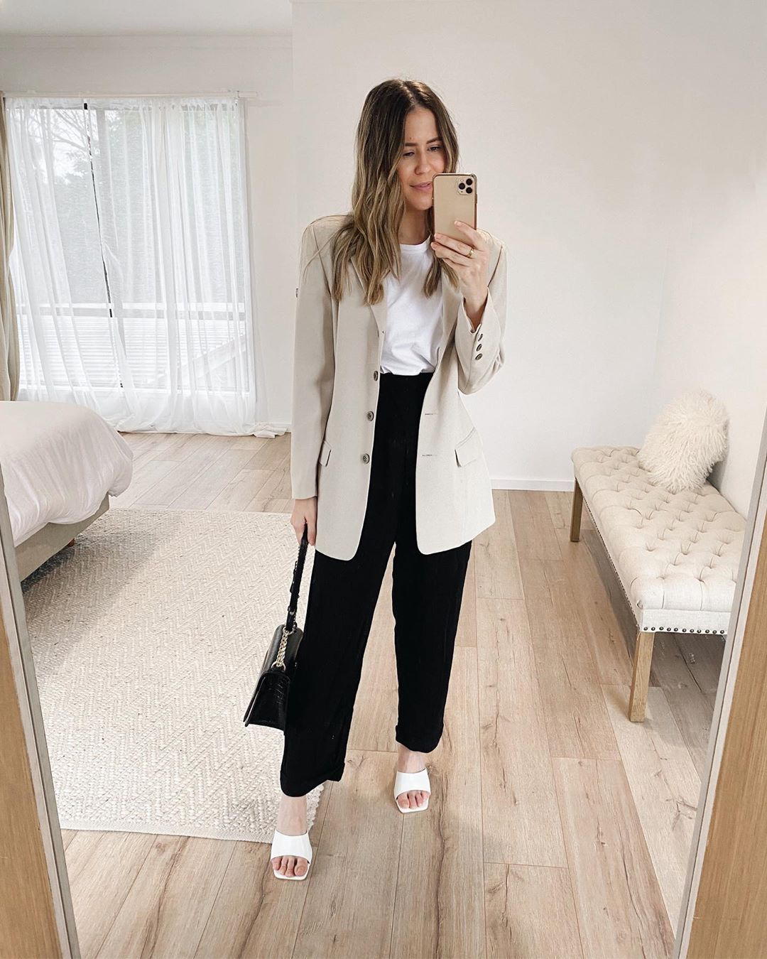 Combine Your Basics for a Chic Work Outfit