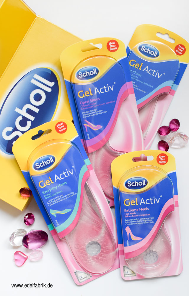 die neuen Gel Active Einlegesohlen von Scholl, Review