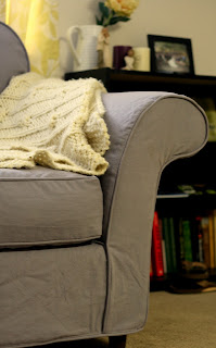 Custom Slipcovers By Shelley Gray Couch And Chair