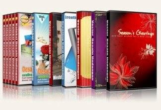 12 DVD Desain Undangan Pernikahan !!