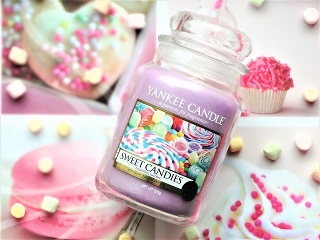 avis Sweet Candies (Friandises Sucrées) de Yankee Candle, blog bougie parfumée, blog bougie, avis yankee candle