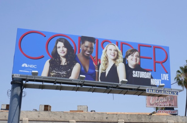 Saturday Night Live 2018 Emmy billboard