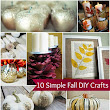10 Simple Fall Decor Crafts Anyone Can Do