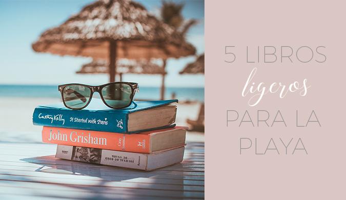 5 libros ligeros para la playa