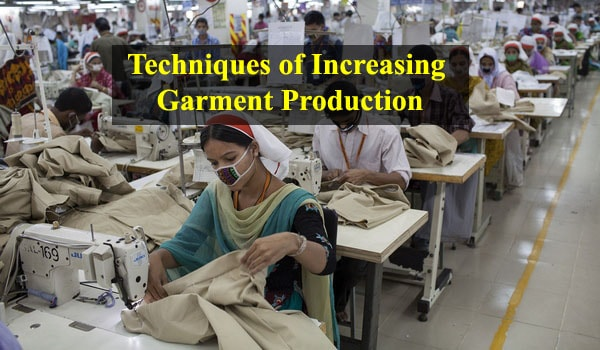 production in garment industry