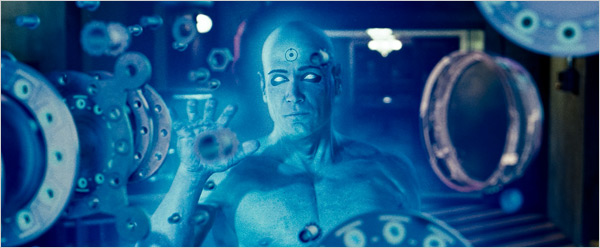 Billy Crudup as Dr. Manhattan in Watchmen 2009 movieloversreviews.filminspector.com