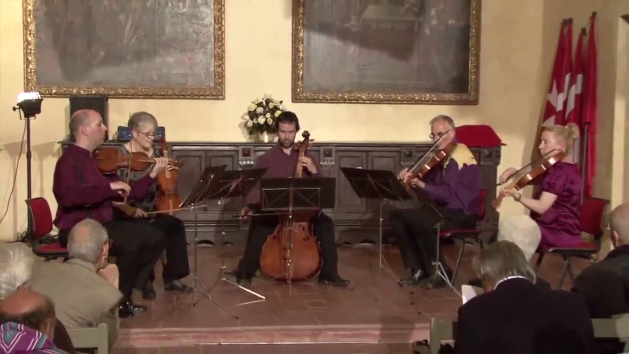 The Monteverdi String Band at the Echi Lontani