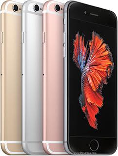 Pilihan warna pada Apple iPhone 6S