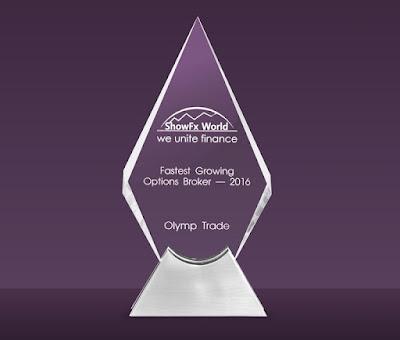Broker Awards Olymp Trade