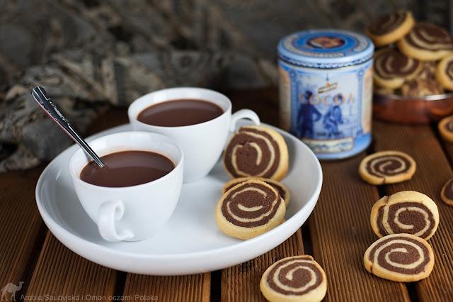 Spiralki waniliowo - kakaowe