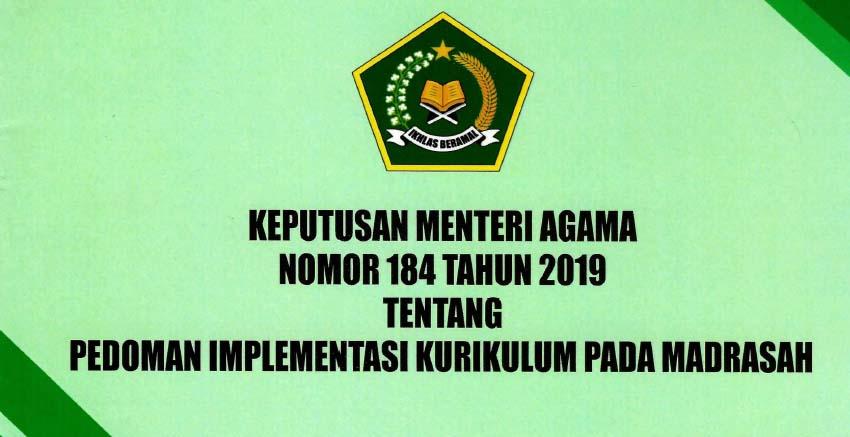 KMA Nomor 184 Tahun 2019