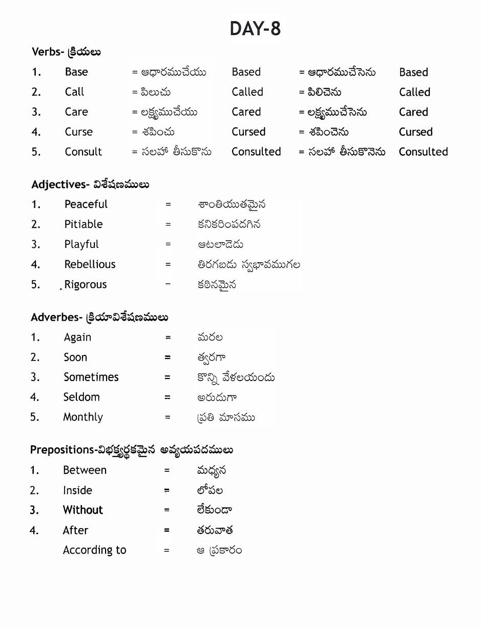 chechi meaning in english
