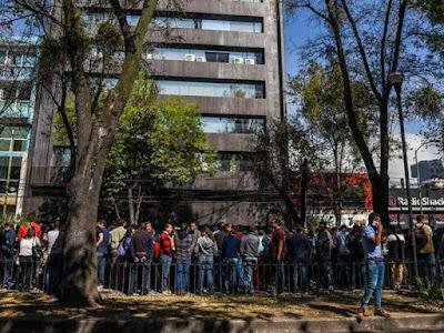 Gempa Hantam Meksiko Selatan,  Goyangkan Gedung-Gedung di Ibukota
