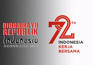 Logo Resmi Pemerintah HUT RI Ke 72 Tahun 2017