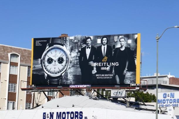 Breitling 1884 watch Cinema Squad billboard