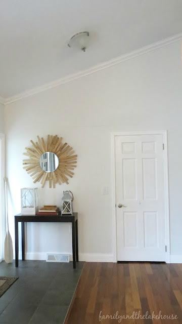 Sunburst Mirror - www.familyandthelakehouse.com