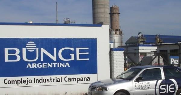 Despidos en Campana: Bunge y Born echa a 100 operarios