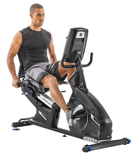 Nautilus R618 Recumbent Exercise Bike, image, review features & specifications plus compare with R616 and R614