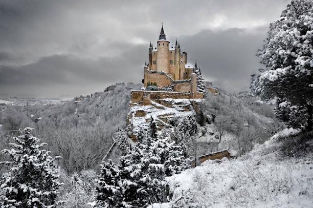 Alcazar De Segovia Spagna