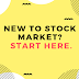 New to Stock Market? Start Here.