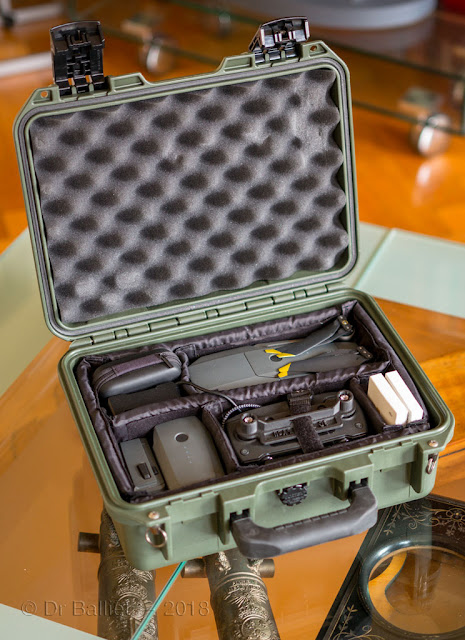 Peli case and Dji Mavic Pro