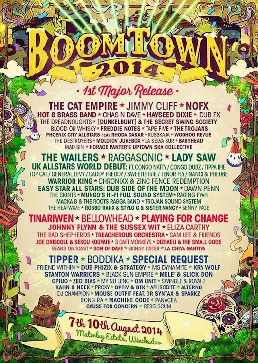 UK Glitch Hop: Tipper + Opiuo to play Boomtown Fair
