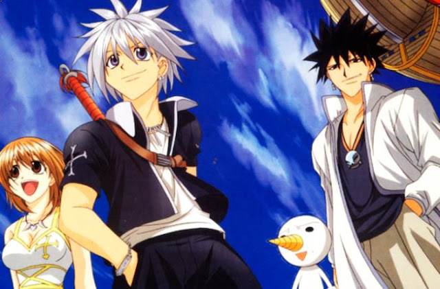 Daftar Film Anime Mirip Fairy Tail - Rave Master (Groove Adventure Rave)
