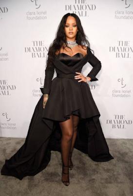 Rihanna 2017 3rd Annual Diamond Ball Picture