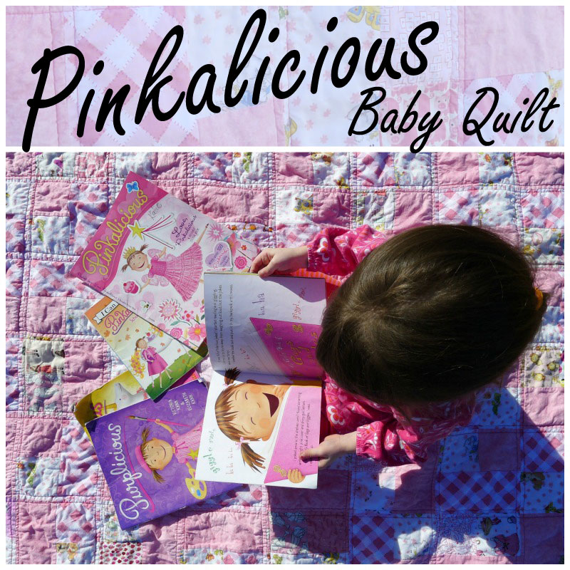 Pinkalicious Baby Quilt