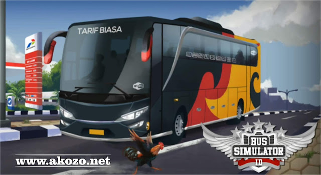 Download Bus Simulator Indonesia Mod Apk 2018