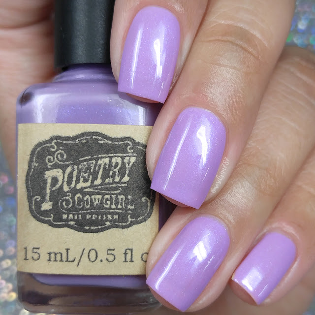 Poetry Cowgirl Nail Polish - Grape Crush