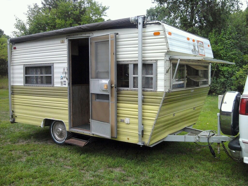 Dainty Daisies Our 1974 Prowler Vintage Camper Travel Trailer Is